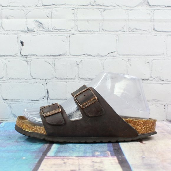 Birkenstock Arizona Habana  Leather Sandals Sz 5.5